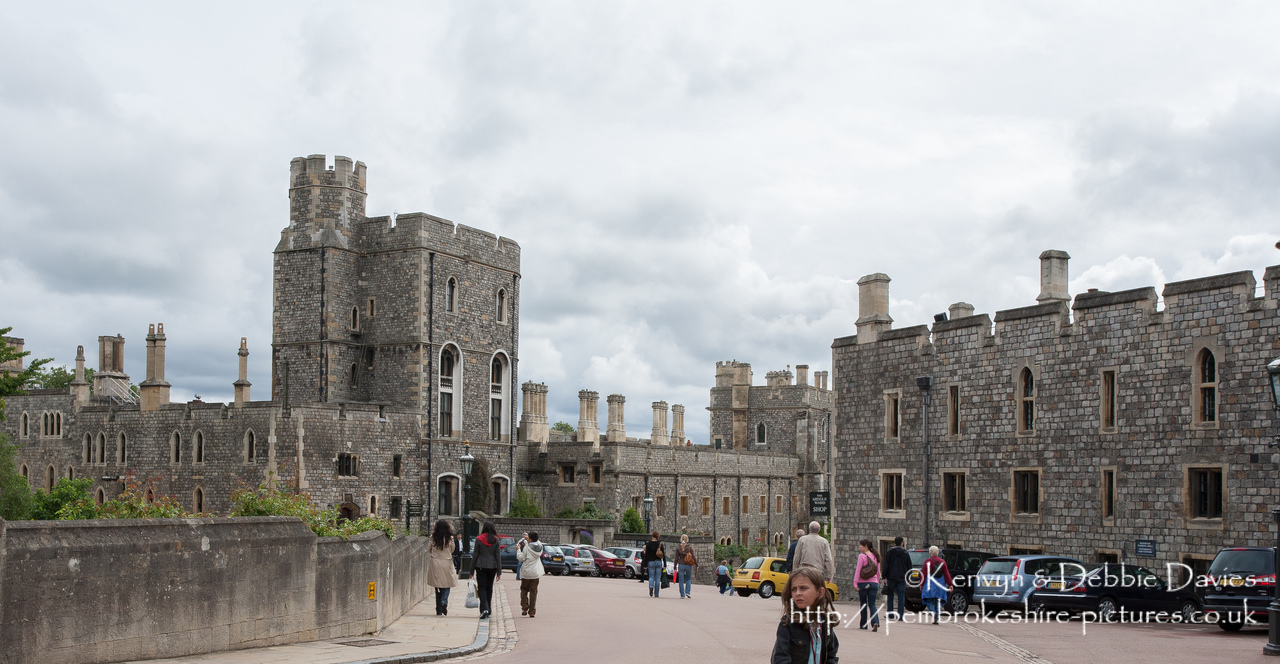Windsor Castle is a royal residence at Windsor in the English county of Berkshire. The castle is notable for its long association with the British royal family and for its architecture. The original castle was built in the 11th century after the Norman invasion by William the Conqueror. [http://en.wikipedia.org/wiki/Windsor_Castle]