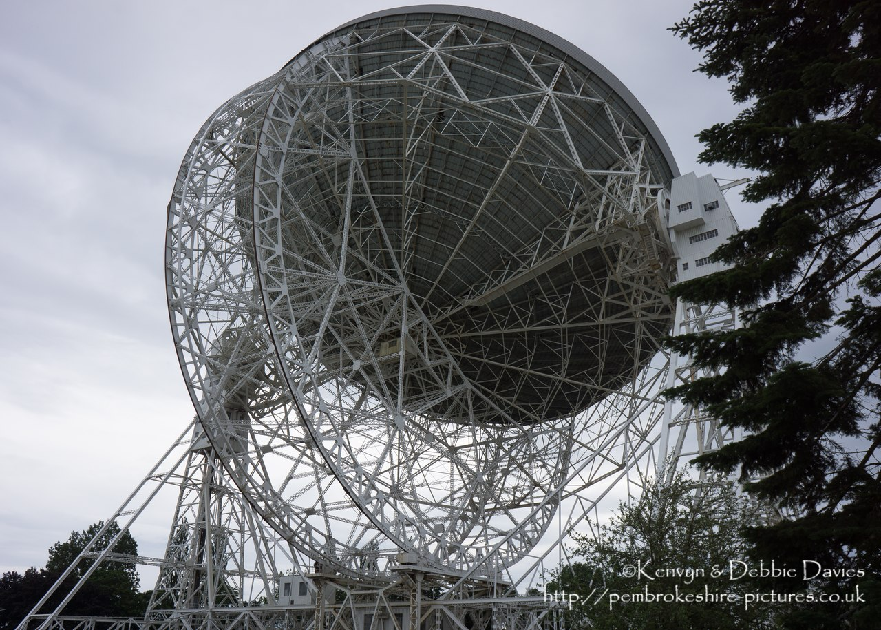 The observatory was established in 1945 by Sir Bernard Lovell, a radio astronomer at the University of Manchester who wanted to investigate cosmic rays after his work on radar during the Second World War.