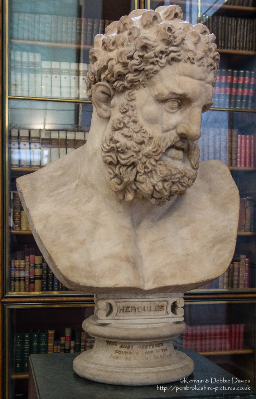 Roman copy of an original by the Greek sculptor Lysippos of about 325-300BC. Restored and set into modern bust by Joseph Nollekens and owned by the museum since 1776.
