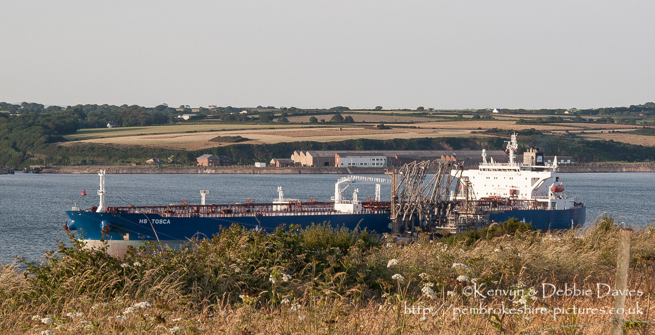 Tankers at Pembroke