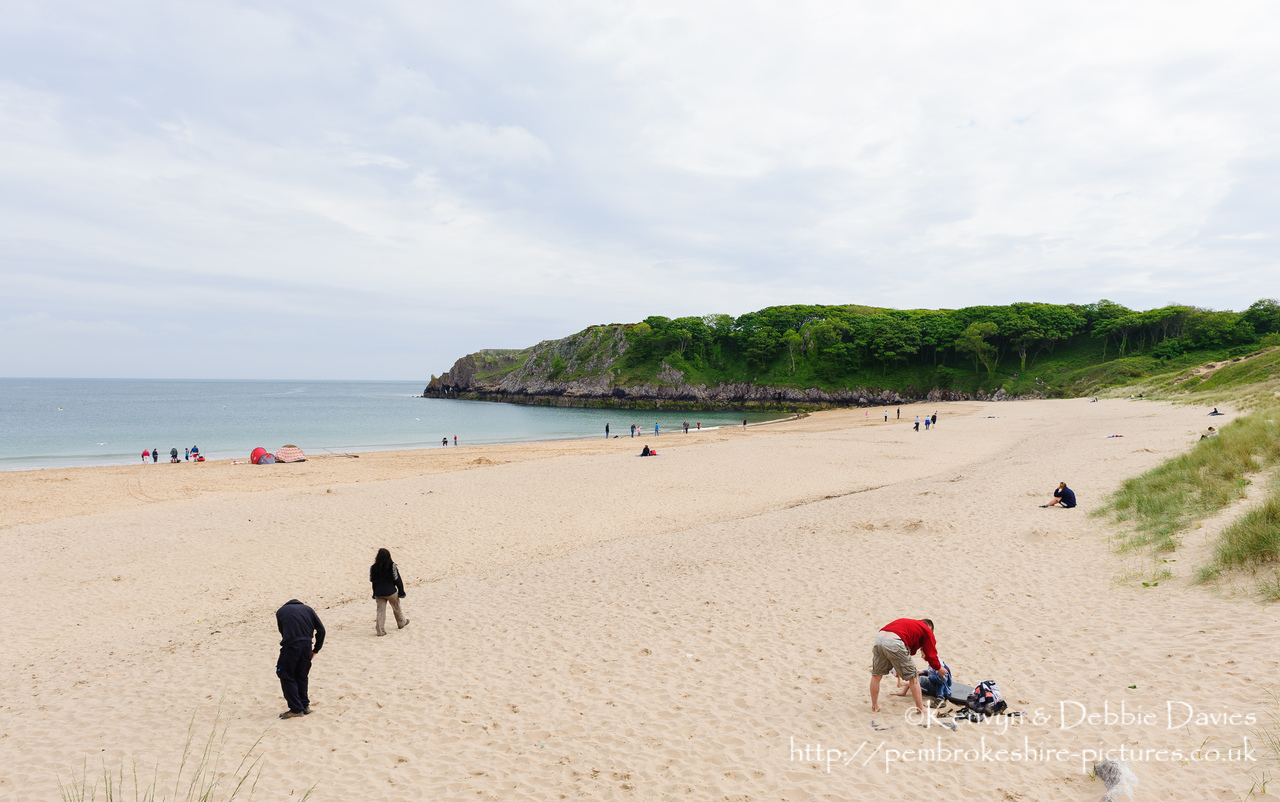 Barafundle is one of the most beautiful beaches in Britain and has been included in the Top 12 Beaches in the world. It is only accessible on foot and is surrounded by stunning coastline.