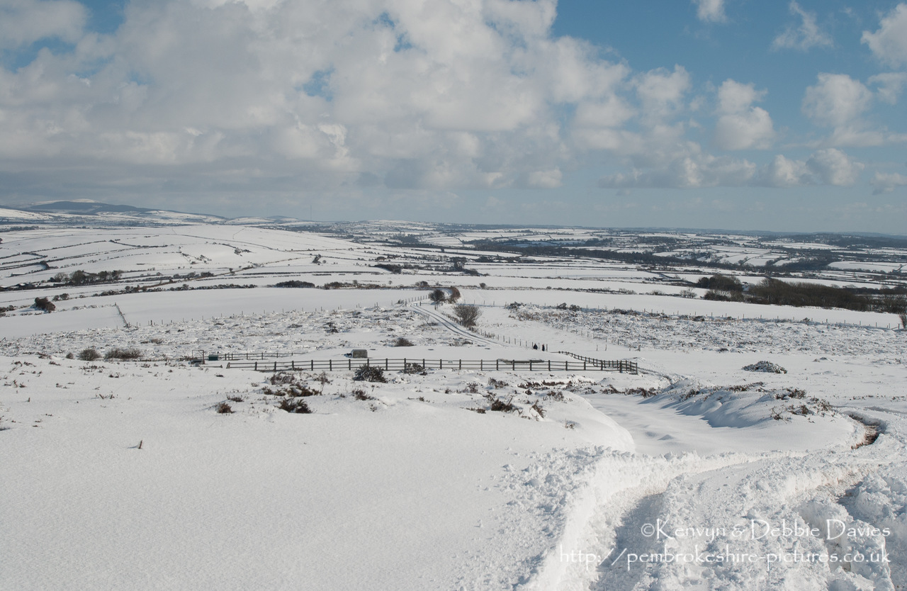 Pembrokeshire under snow