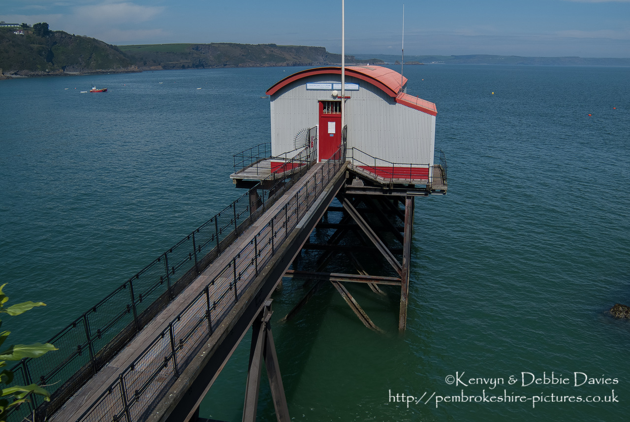 Tenby has had a lifeboat station since 1852, with the RNLI running it since 1854. It currently (as at 2012) has the old station (recently converted to a private residence), built in 1976 and the new  (completed 2005).
