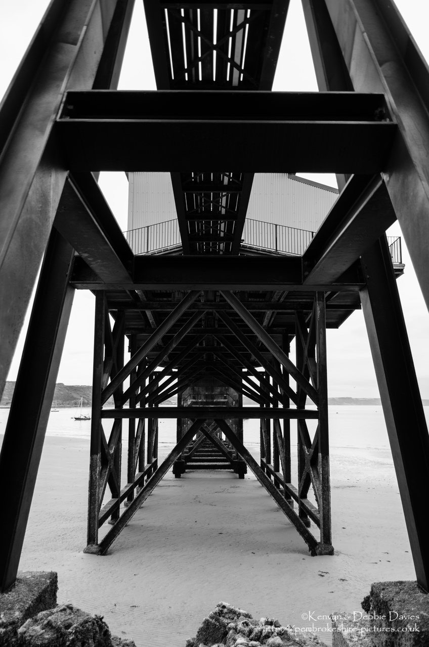 Keep coming back to the old lifeboat station in Tenby trying different angles because my uncle built the framework you see here and I suppose turning the building into a private residence at least saved it being demolished.