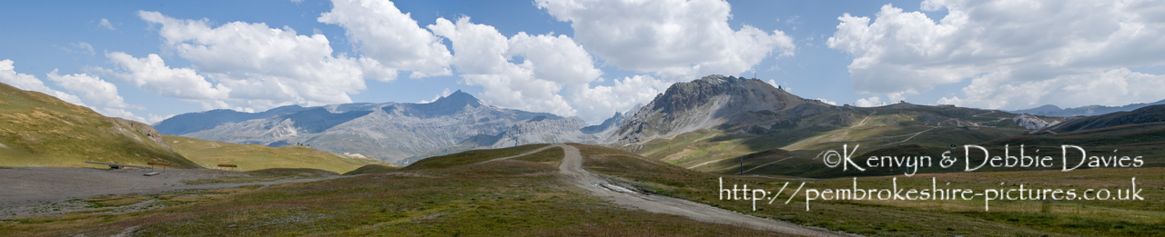 The Val d'Isère ski resort is used as an off-roading course during the summer months when there little snow about. Manufacturers use it to test their new 4x4's.