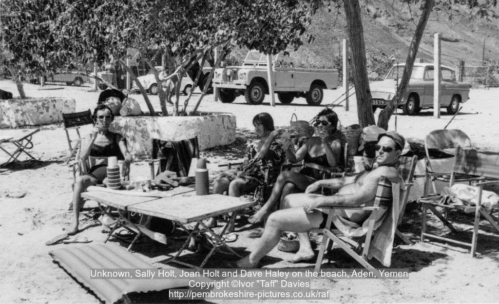 on the beach aden yemen 1960s aden people