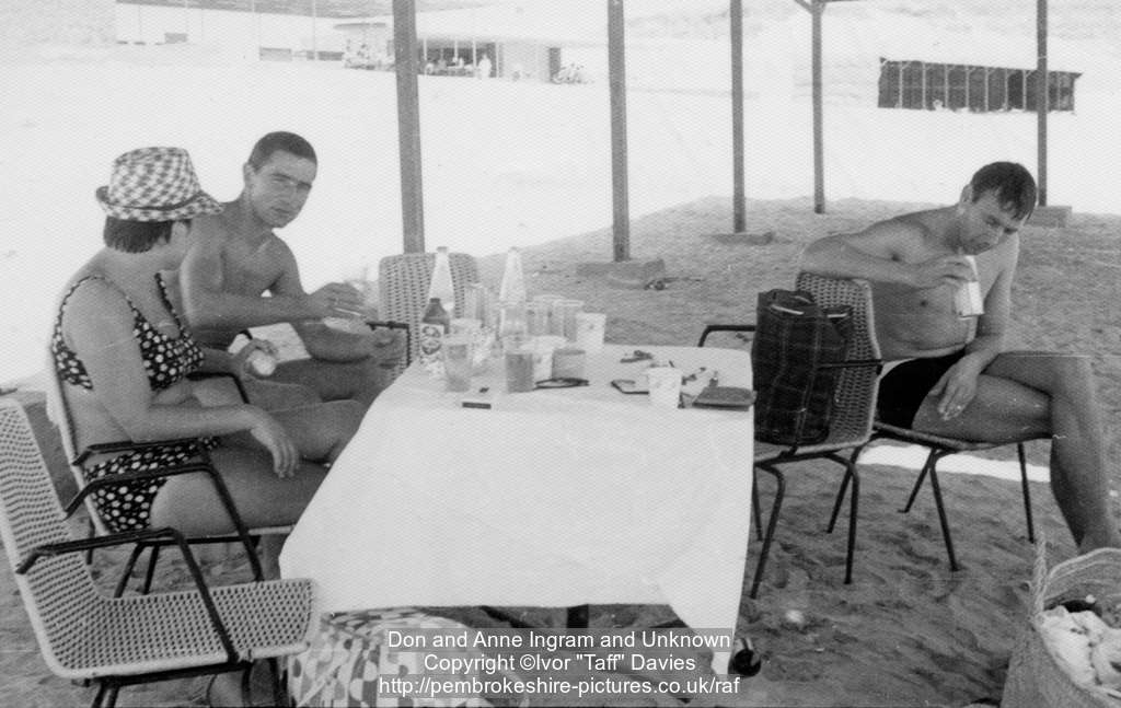 Don and Anne Ingram, Unknown, Aden circa 1966