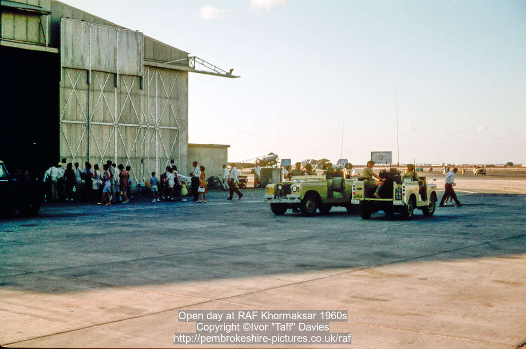 Open day at RAF Khormaksar 1960s