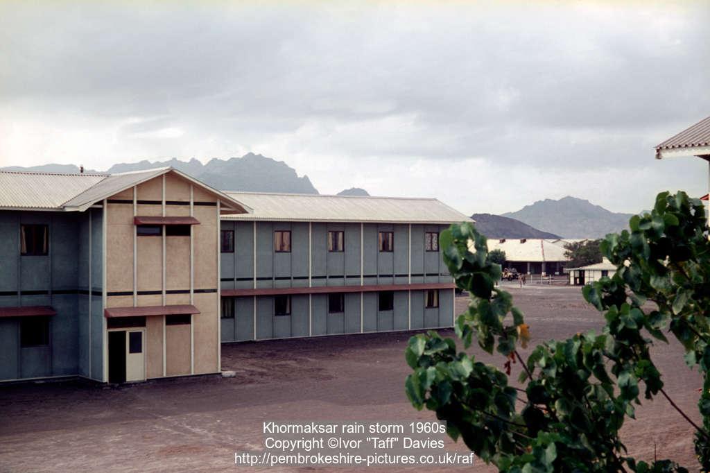 Khormaksar rain storm 1960s