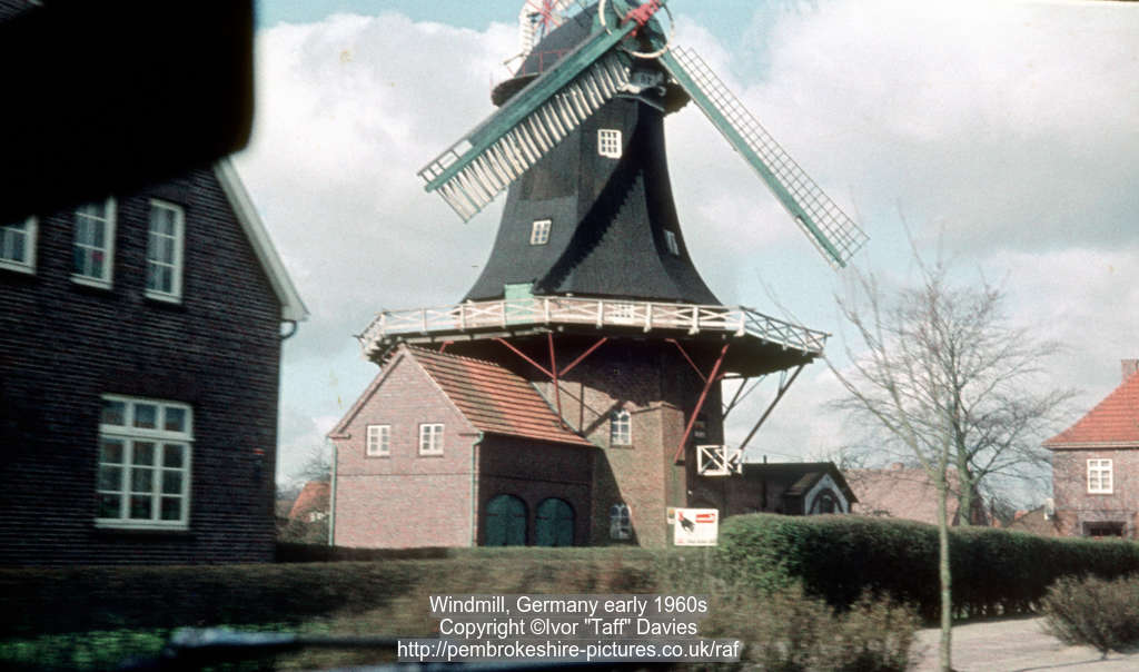 Windmill, Germany early 1960s