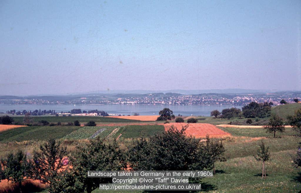 Landscape taken in Germany in the early 1960s