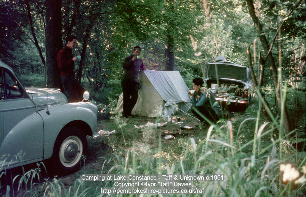 Camping in Germany, 1961