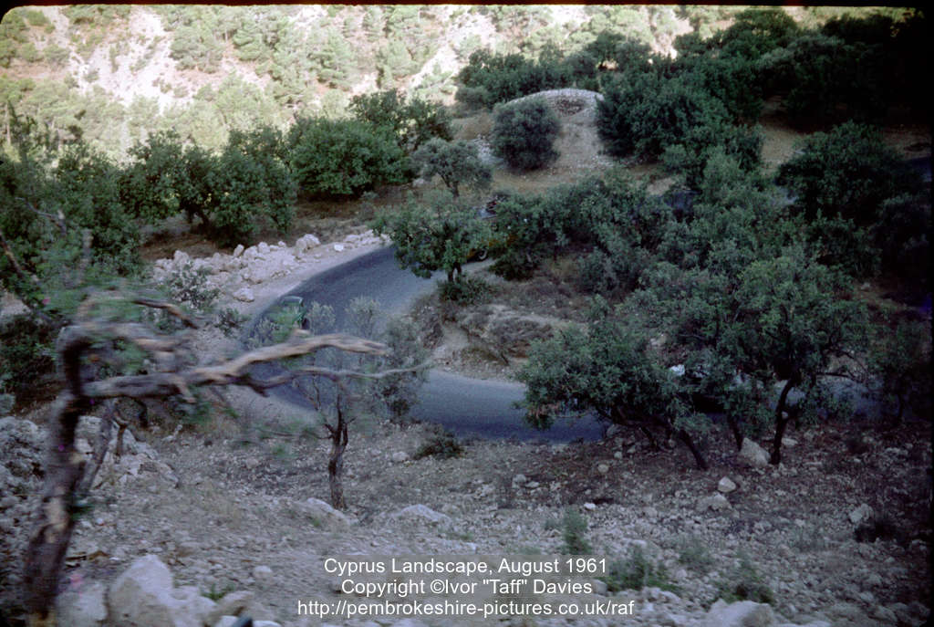 Cyprus Landscape, August 1961