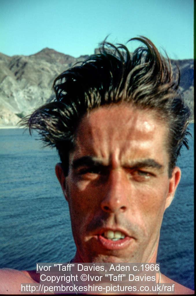"""Ivor """"Taff"""" Davies, Aden c.1966"""