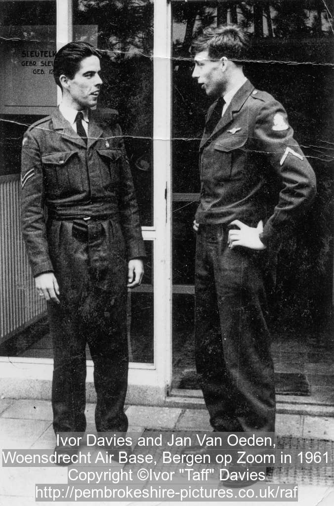Ivor Davies and Jan Van Oeden,
