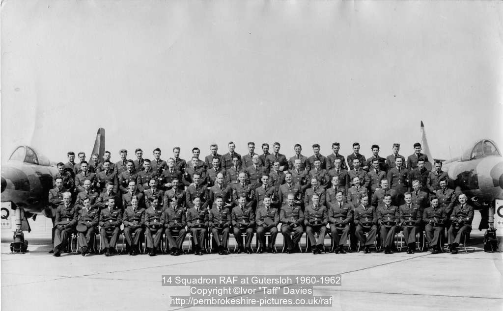 14 Squadron RAF at Gütersloh 1960-1962