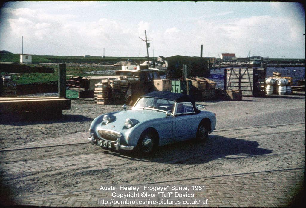 Austin Healey "Frogeye" Sprite, 1961