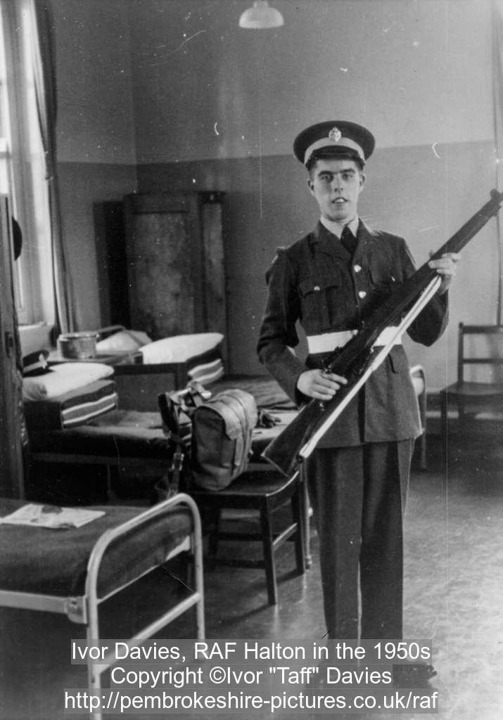Ivor Davies, RAF Halton in the 1950s