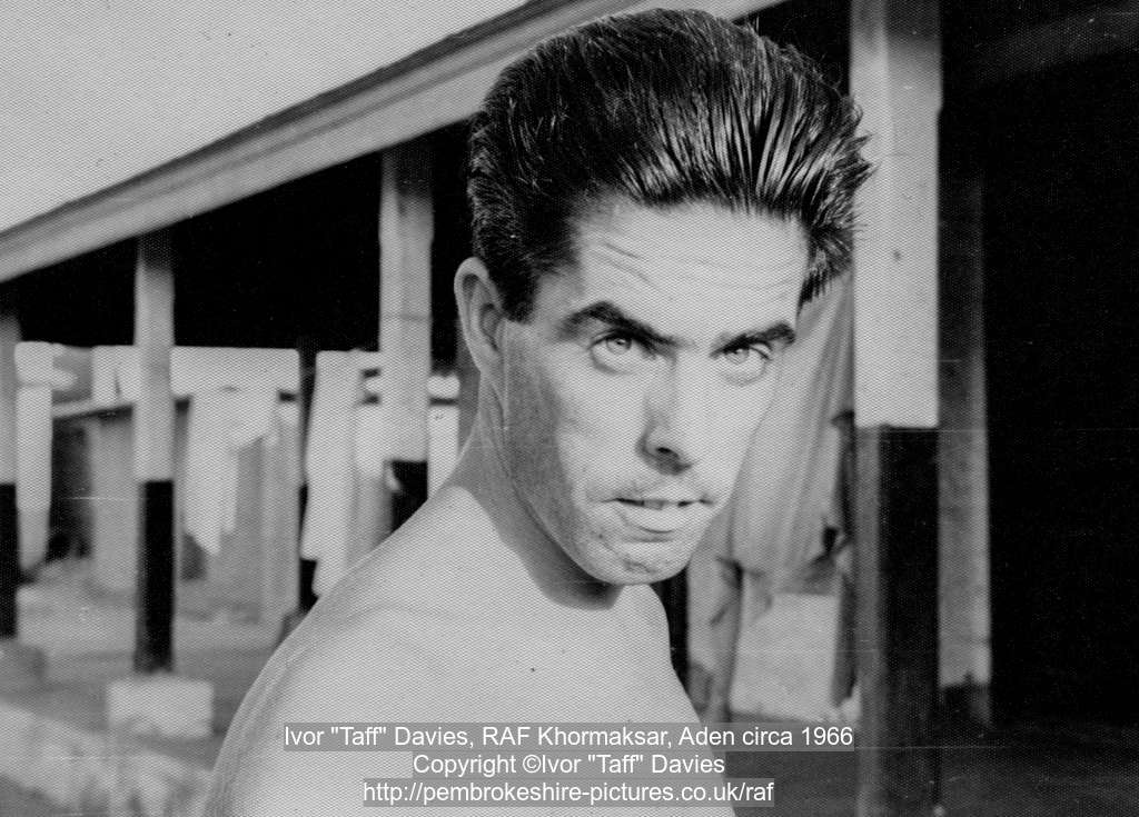 "Ivor ""Taff"" Davies, RAF Khormaksar, Aden circa 1966"