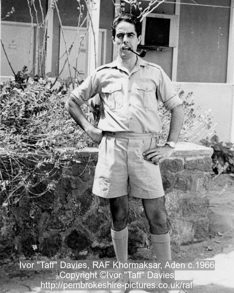 "Ivor ""Taff"" Davies, RAF Khormaksar, Aden c.1966"