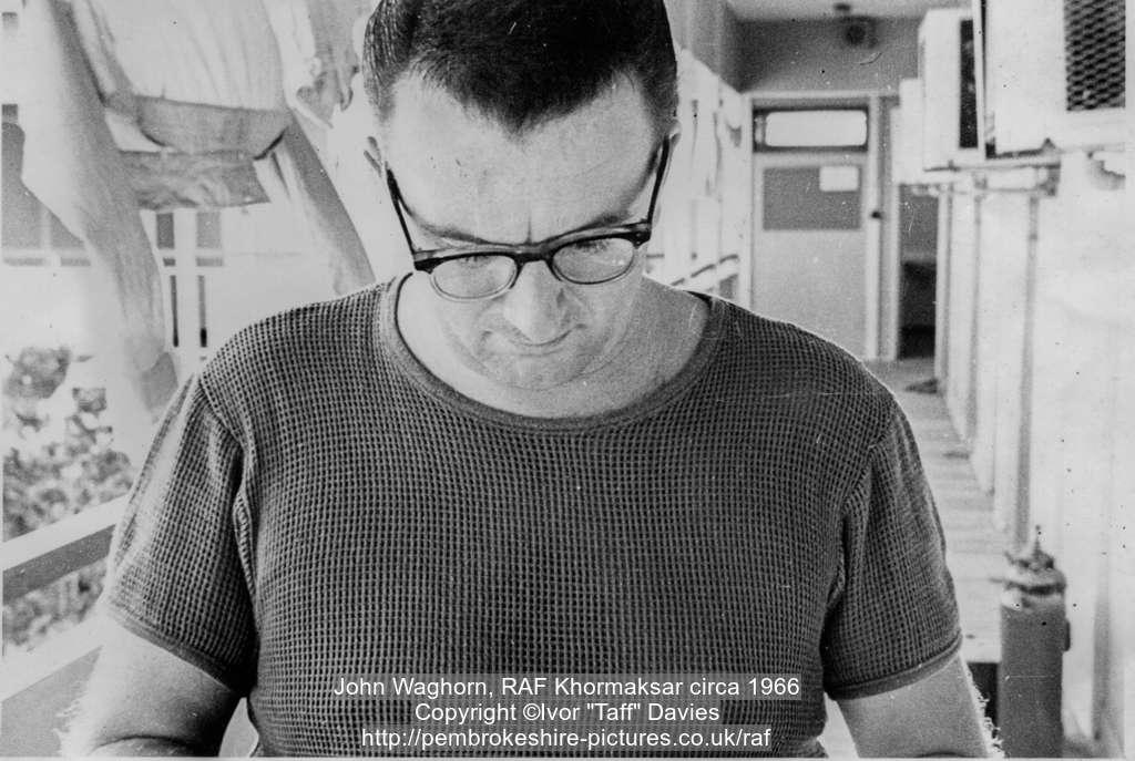John Waghorn, RAF Khormaksar circa 1966