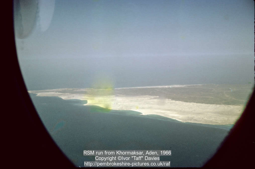 RSM run from Khormaksar, Aden, 1966