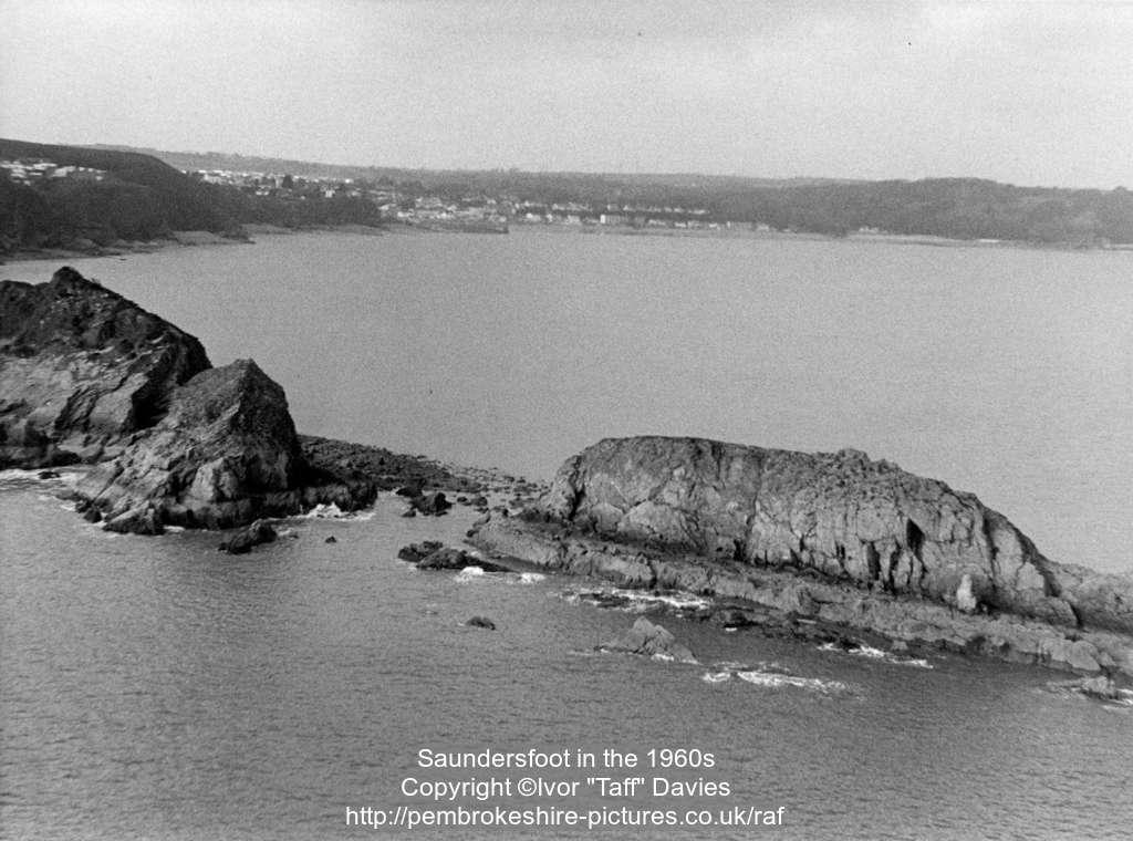 Saundersfoot in the 1960s