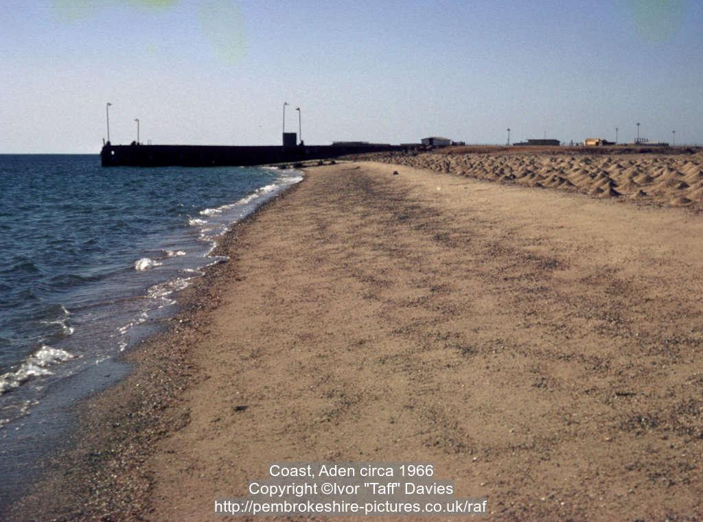 Coast, Aden circa 1966