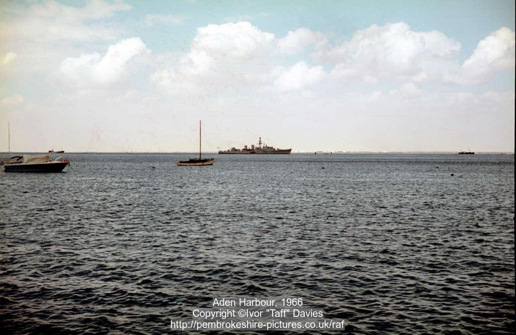 Aden Harbour, 1966