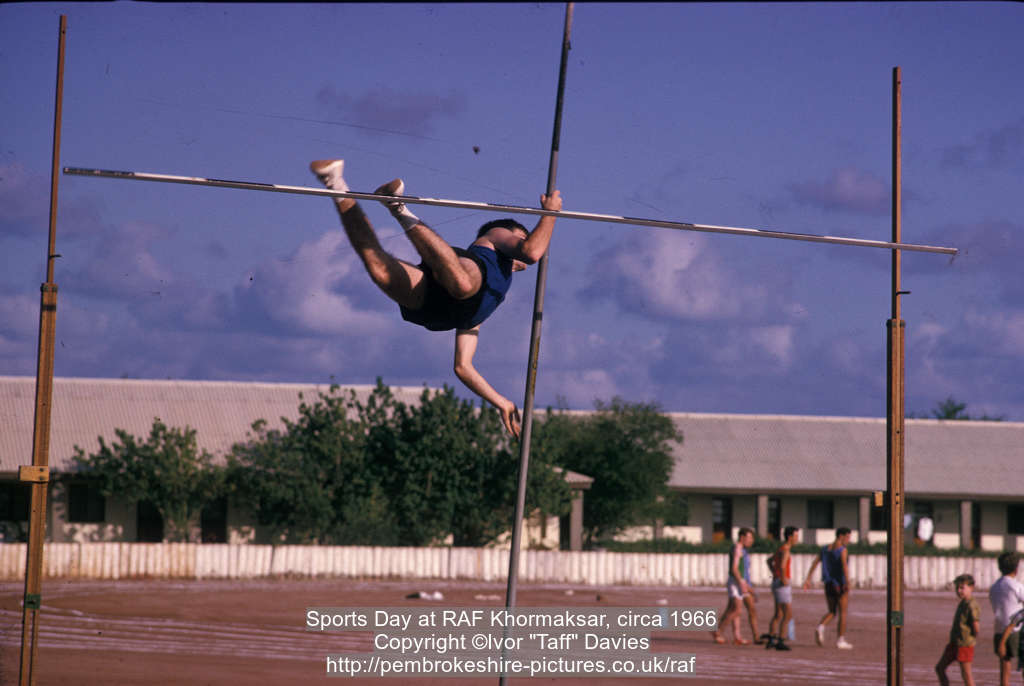 Sports Day at RAF Khormaksar, circa 1966