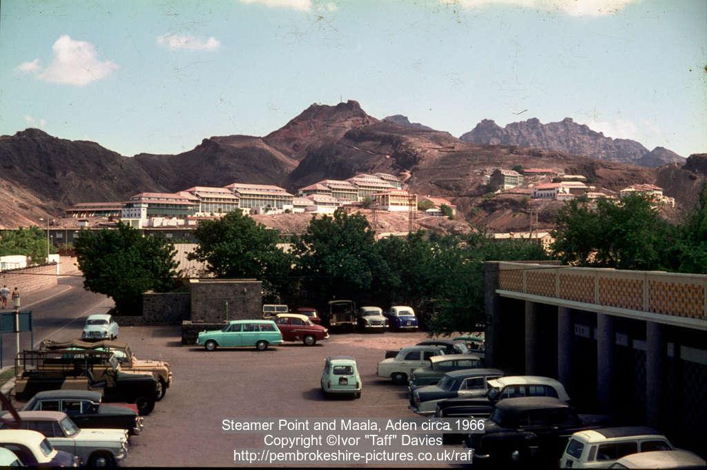 Steamer Point and Maala, Aden circa 1966