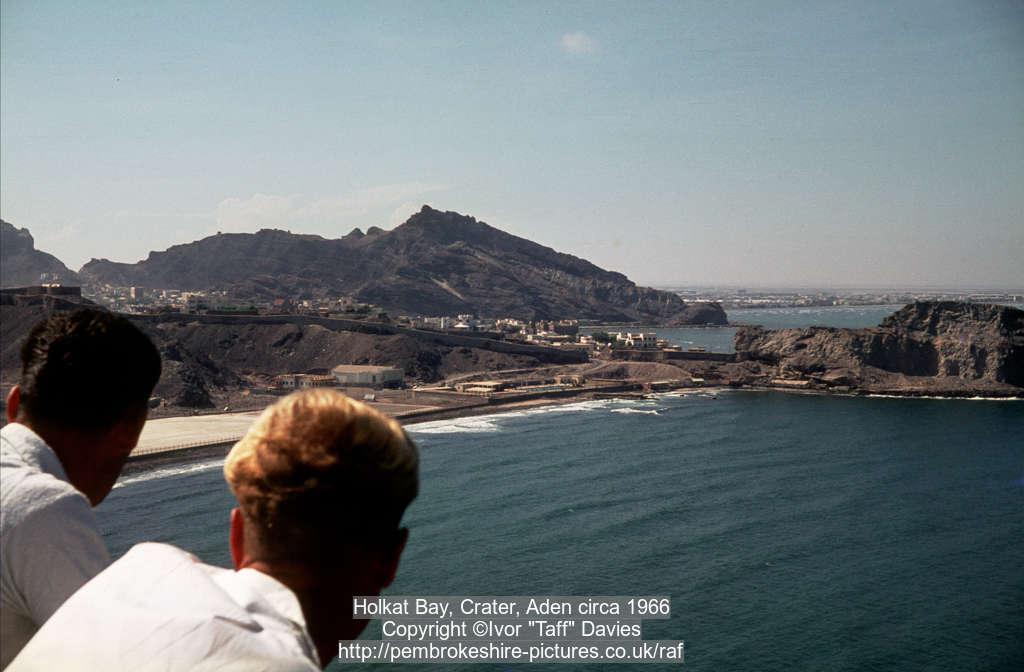 Holkat Bay, Crater, Aden circa 1966