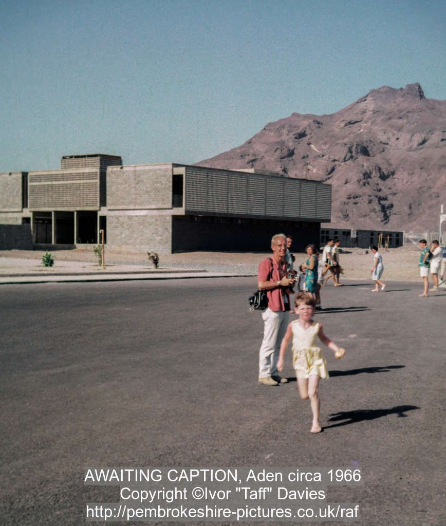 AWAITING CAPTION, Aden circa 1966