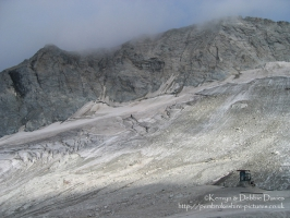Col Sommeiller is one of the highest places in Europe accessible by vehicle at nearly 3000 metres.