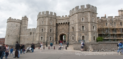 Windsor Castle and Surrounding Area