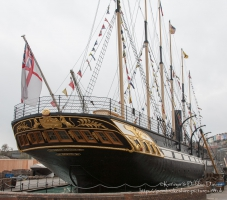 Stern of the SS Great Britain, Bristol