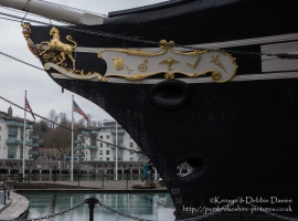 Bow of the SS Great Britain, Bristol