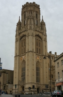 The Wills Memorial Building in Bristol