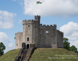 Norman Shell Keep at Cardiff Castle