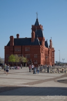 The Pierhead Building in Cardiff Bay
