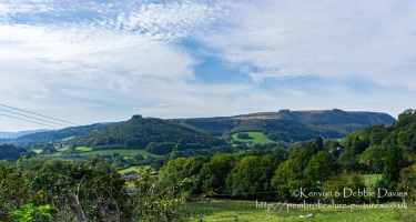 Cambrian Mountains Landscape