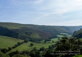 Often overlooked in favour of the Brecon Beacons and Snowdonia, the Cambrian Mountains in mid Wales are beautiful and the source of the Rivers Wye and Severn!