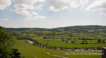 Landscape shot at Dinefwr