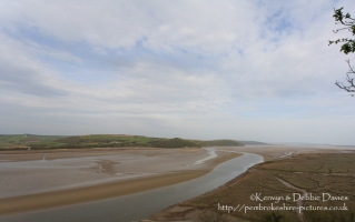 Laugharne in Carmarthenshire
