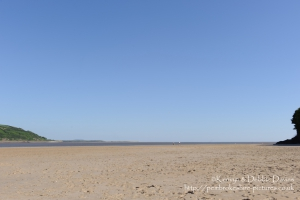 Beach at Llansteffan, Carmarthenshire