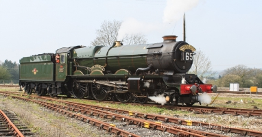"6024 ""King Edward I"" King class locomotive. Built in 1930 at the Swindon Works ..."
