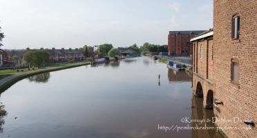 Shropshire Union Canal in Chester