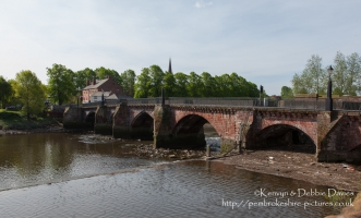 Bridge over River Dee, Chester