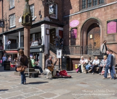 Street Shot in Chester