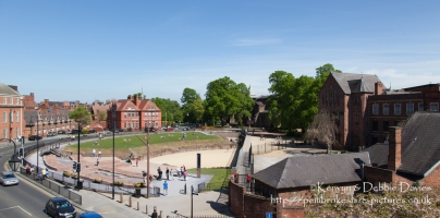The Roman Amphitheatre in Chester